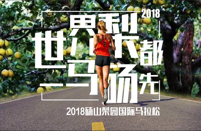 2018砀山梨园国际马拉松